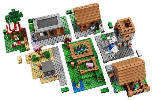 LEGO Minecraft 21128 The Village