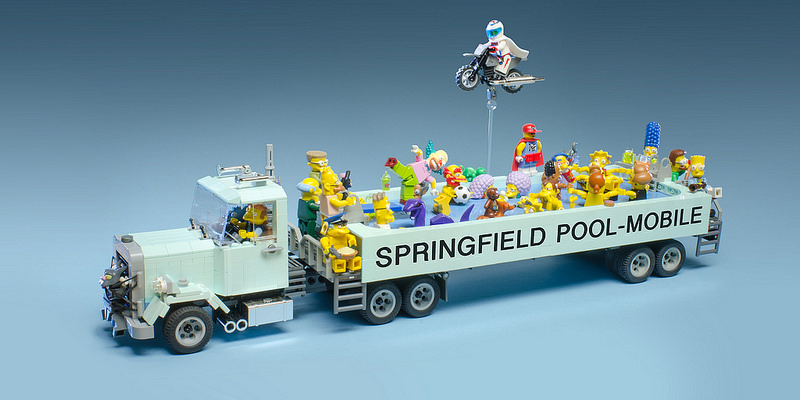 Springfield Pool-Mobile by Brian Williams