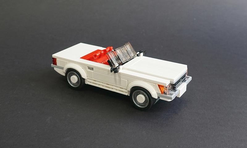 Lego 1972 Mercedes-Benz 350SL - 01