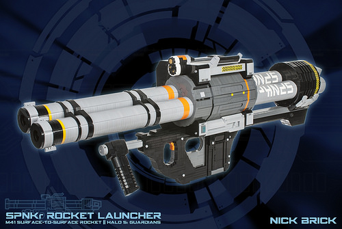 SPNKr Rocket Launcher - Halo 5: Guardians