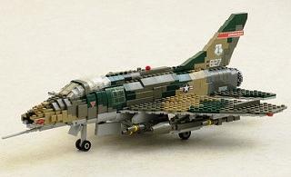 184th FS 'Razorbacks' F-100D Super Sabre