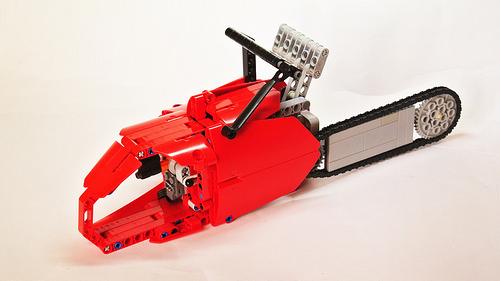 Lego Technic Chainsaw (with Power Functions Motor)