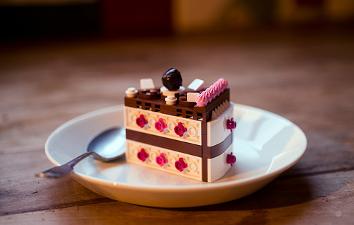 Cranberry Black Forest Cake