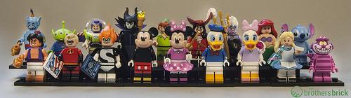 LEGO Collectible Minifigures Disney Series