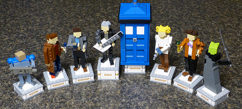 Doctor Who Chess: White 1