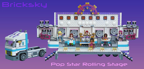 Friends Rolling Stage