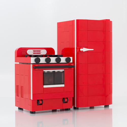 Retro Range, Refrigerator