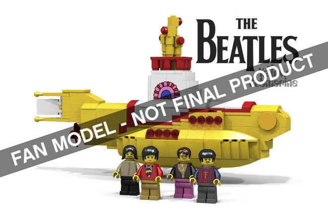 LEGO IDEAS The Beatles Yellow Submarine