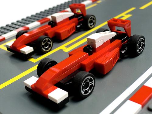 Microscale SF16-H F1 Cars