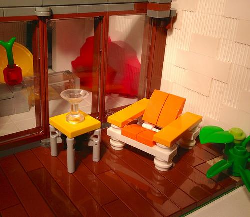 LEGO porch