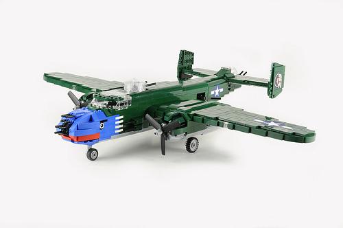 B25-J 499th Bomber Squadron 'Bats Outa Hell' - 01