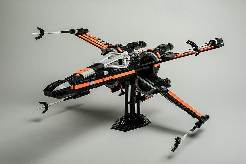 Poe Dameron's X-Wing by Robert Lundmark