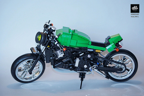 CUSTOM KAWASAKI VULCAN S. FROM MRS OFICINA
