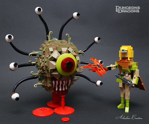 A LEGO Beholder for your next D&D campaign | The Brothers Brick