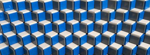 Lego Cube Pattern
