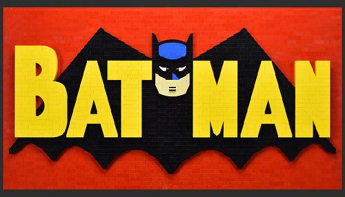 乐高蝙蝠侠马赛克