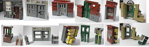 The Doors - Advanced Lego Doors