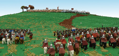 14th October 1066 - A hill near Hastings