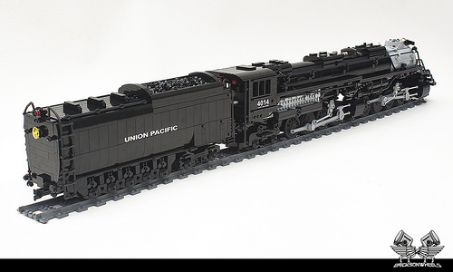 Lego Union Pacific Big Boy in 1:38