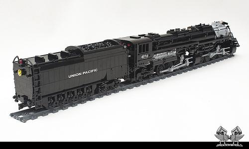 Lego Union Pacific Big Boy in 1:38