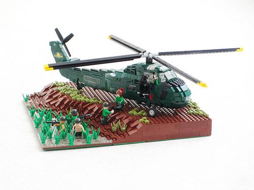Vietnam War USMC UH-34D Seahorse