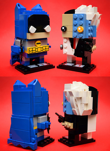 Brickheadz: Batman (Bronze Age) & Two Face (B:TAS)