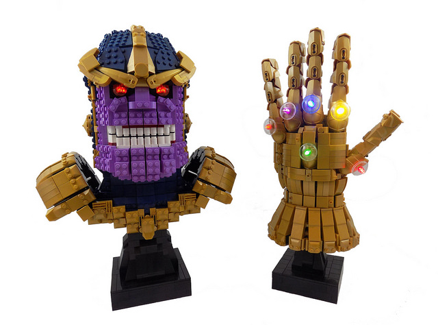 Thanos and the Infinity Gauntlet