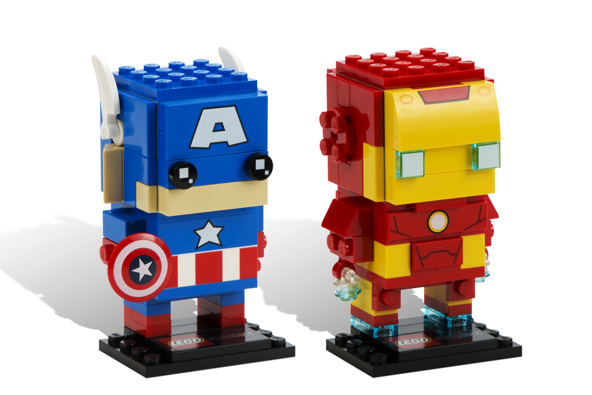 BrickHeadz: Captain American and Iron Man