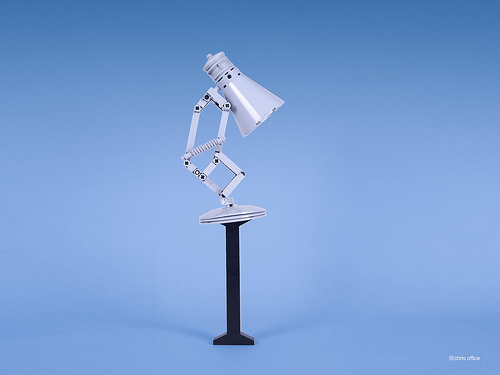 This Lego Version Of The Famous Pixar Desk Lamp Is Utterly