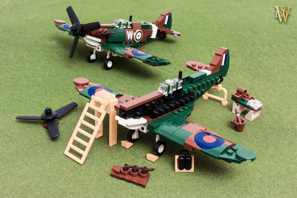 LEGO Spitfire Archives | The Brothers Brick | The Brothers Brick