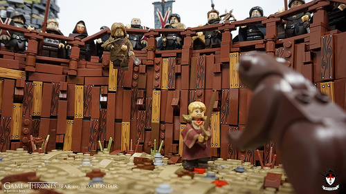 Game of Thrones - Bear and the Maiden Fair - by Barthezz Brick 10