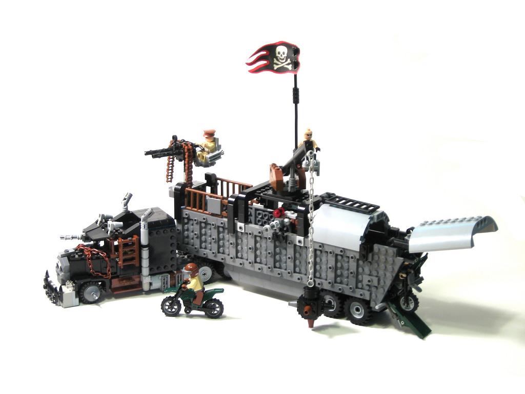 аренде лего машины для зомби апокалипсиса называли