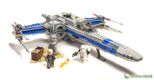 75149 Resistance X-Wing Fighter