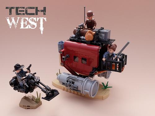 Tech West - Stagecoach Robbery