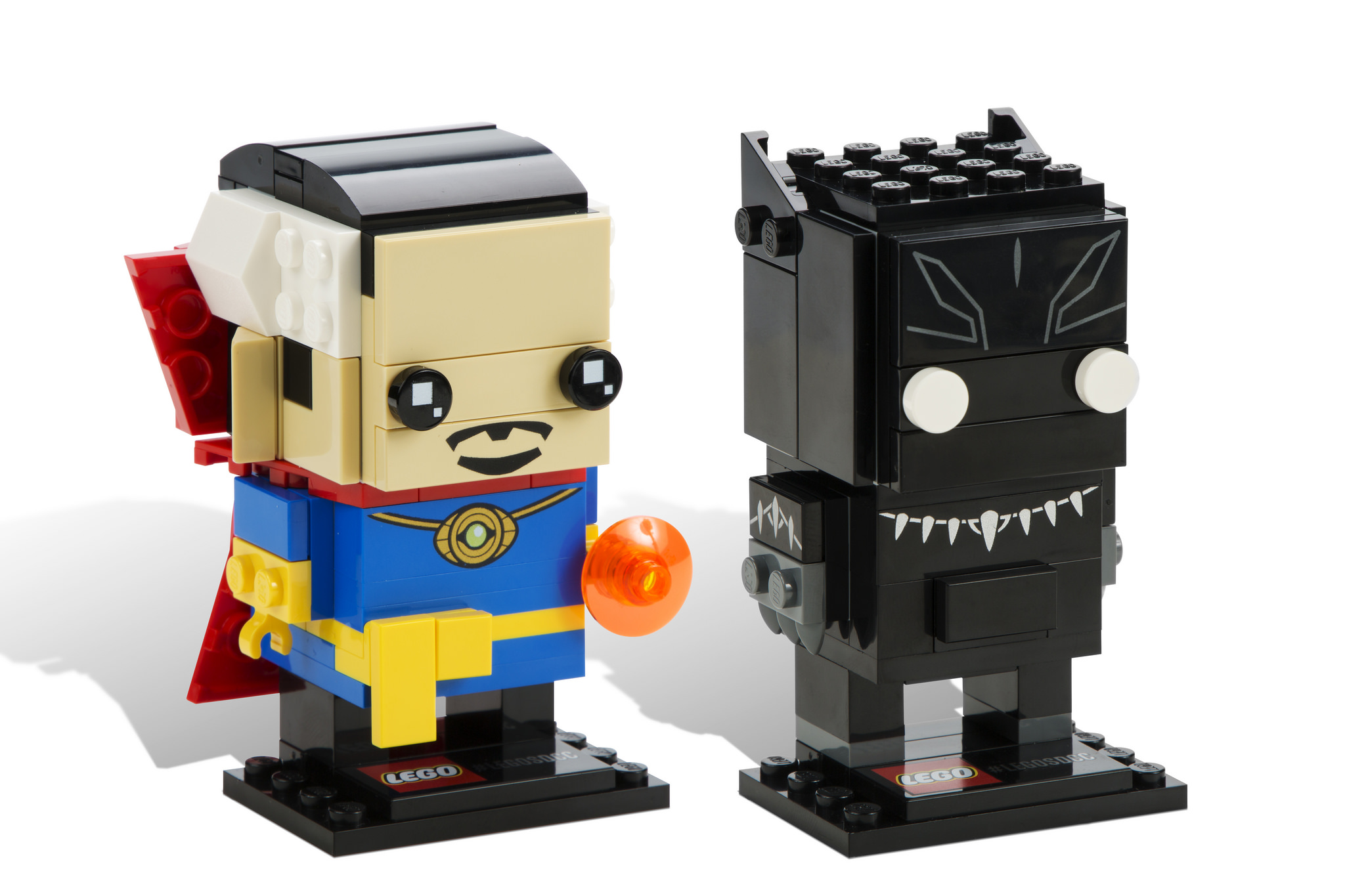 BrickHeadz: Doctor Strange and the Panther