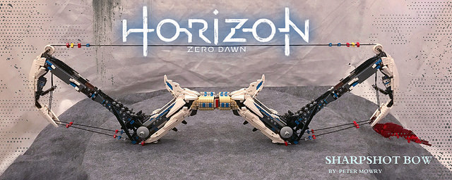 Horizon Zero Dawn Sharpshot Bow