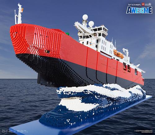 LEGO® Brick Icebreaker