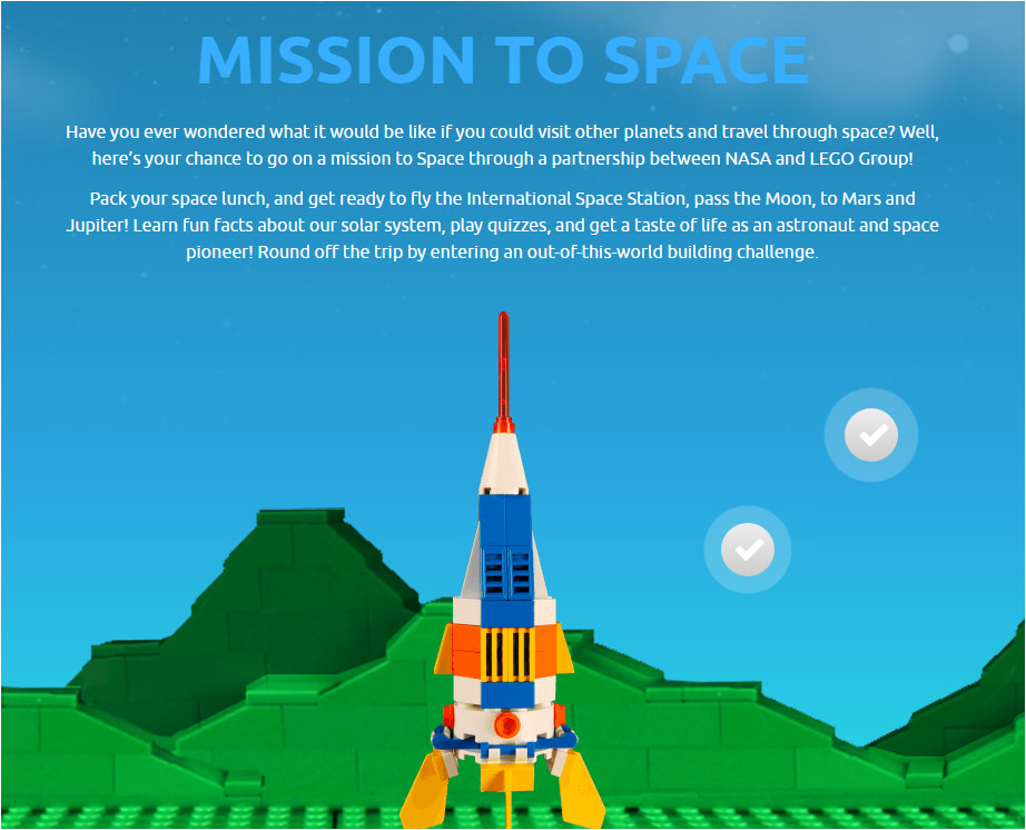 NASA and LEGO's Mission to Space