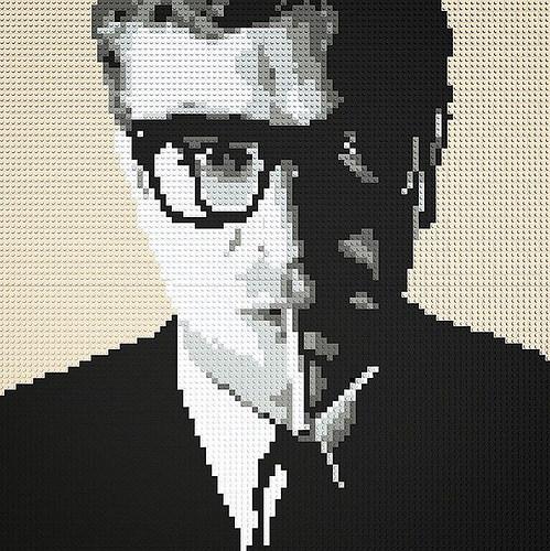 LEGO Mosaic - Michael Caine