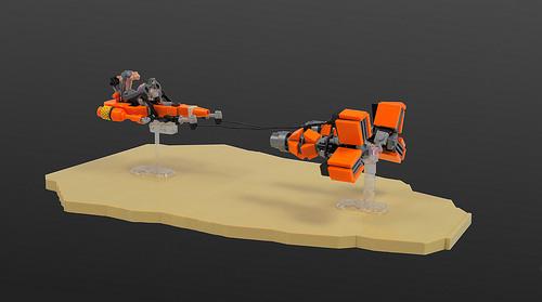 Microfighter: Sebulba's podracer