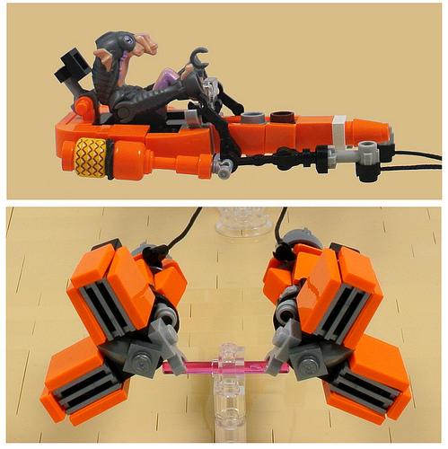 Microfighter: Sebulba's podracer (details)
