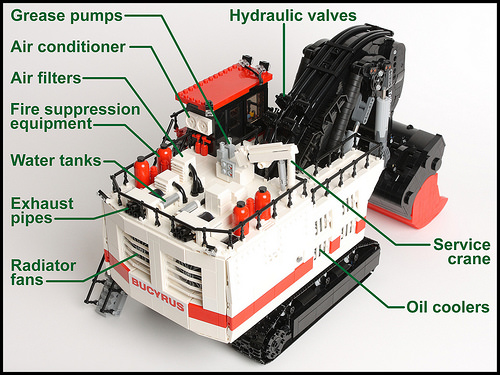 Bucyrus RH400 Mining Shovel