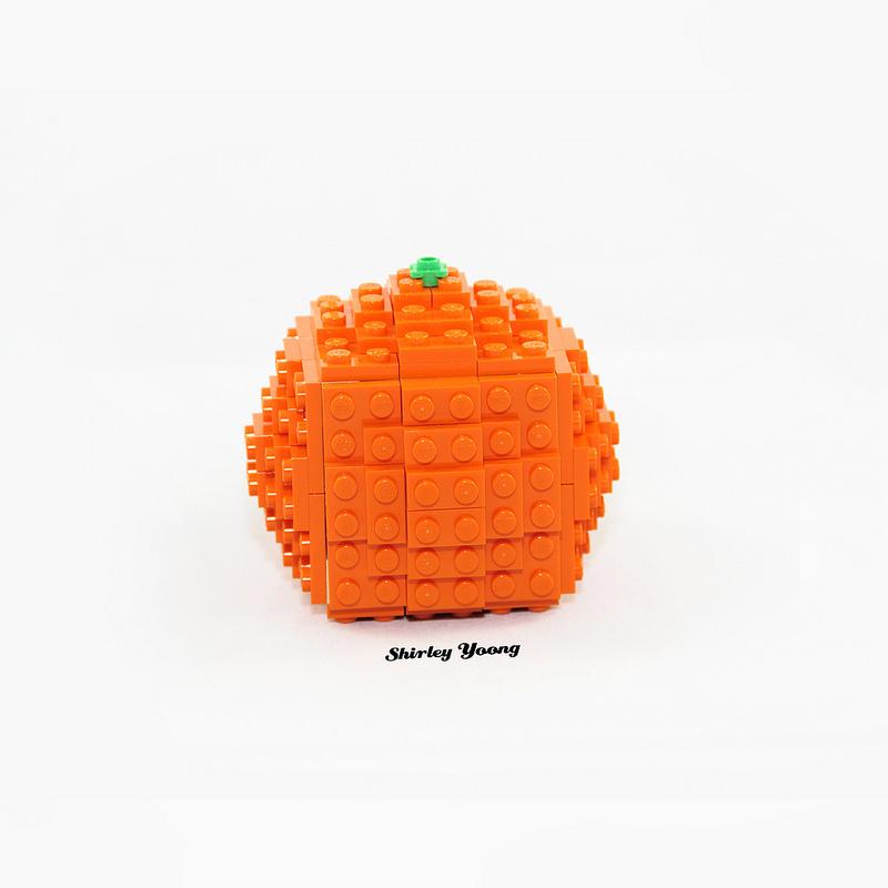 LEGO Mandarin Orange (Life-size)