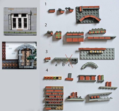The ruinous beauty of an earthquake captured in a huge LEGO