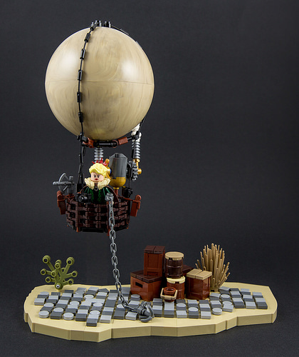 Steampunk - Hot air balloon