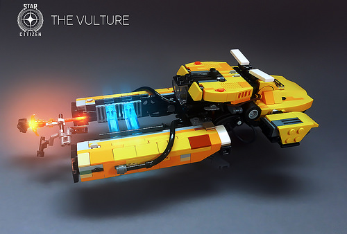 The Vulture (Star Citizen) LEGO MOC