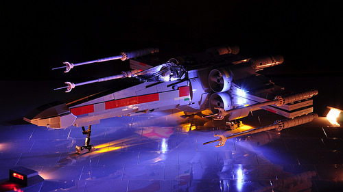 X-wing - that's how it turned out