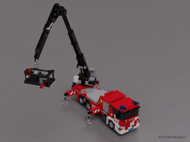 Lego Scania P410 Fire Truck