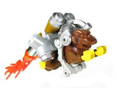 LEGO rocketeer monkey