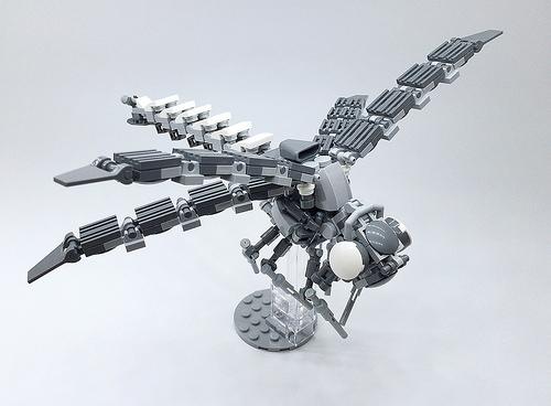 LEGO Mech Dragonfly-01